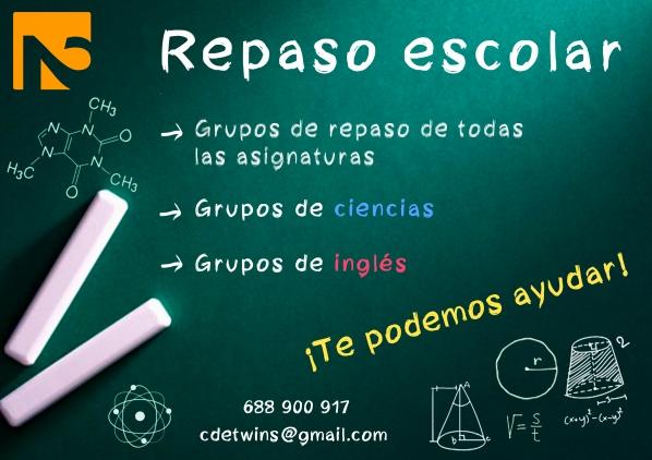 CARTEL REPASOS 2017 FACEBOOK